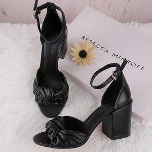 Rebecca Minkoff CAPRIANA Leather Sandals 7 NIB